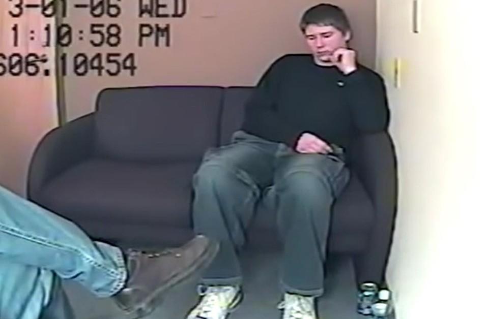 Brendan Dassey, via screengrab