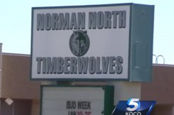norman north high school, via screengrab
