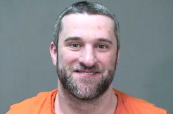 Dustin Diamond mugshot via Ozaukee County Sheriffs Office