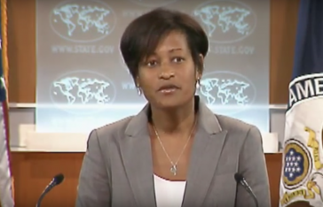 Cheryl Mills screengrab via State Dept YouTube