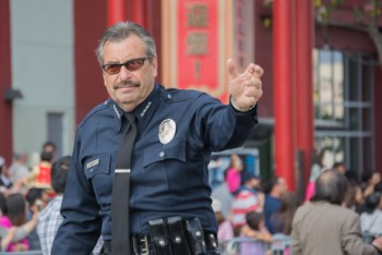 LAPD Chief Charlie Beck via shutterstock