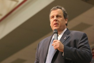 Image of Chris Christie via Rich Koele/Shutterstock