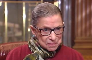 Ruth Bader Ginsburg screengrab via Bloomberg