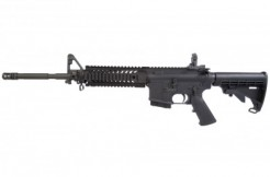 AR-15 via M Luevanos and Shutterstock