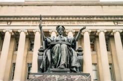 Columbia University Alma Mater Statue via Valerii Iavtushenko and Shutterstock