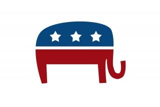 Image of GOP elephant via hafakot/Shutterstock