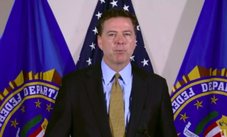 FBI Dir. Comey via screengrab