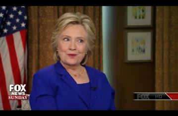 Clinton via screengrab