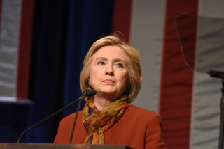 Image of Hillary Clinton via Shutterstock