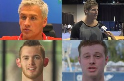Lochte, Feigen, Conger, Bentz via USA Swimming