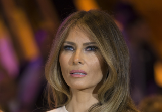 Image of Melania Trump via lev radin/Shutterstock