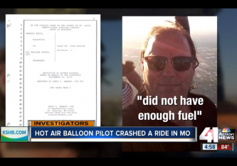 Alfred Nichols Texas Balloon Crash via screengrab