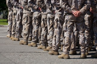 Image of soldiers via Shutterstock