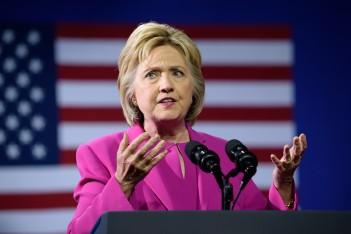 Hillary Clinton via shutterstock