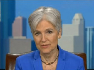 Image of Jill Stein via Fox News screengrab