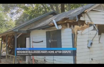 destroyed home via screengrab
