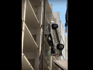 austin parking garage video via youtube screengrab