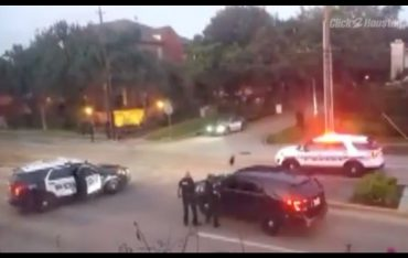 Houston shooting via screengrab