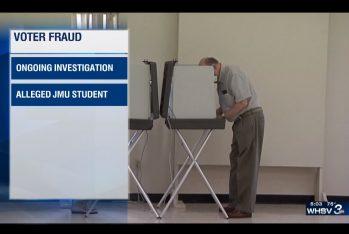 voter fraud via screen-shot