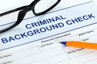 criminal-background-check via Shutterstock
