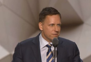 Image of Peter Thiel via PBS screengrab