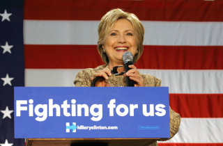 Hillary Clinton fighting for us (Shutterstock)