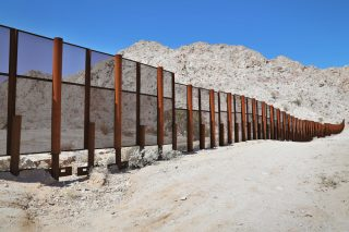 mexico border via Shutterstock
