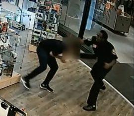 mall attack via screengrab