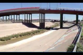 U.S. Mexico Border via screengrab