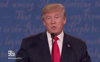 Donald Trump via screengrab