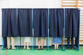 voting via Shutterstock