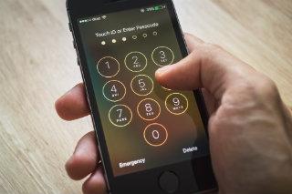 iPhone Lock Screen (Shutterstock)