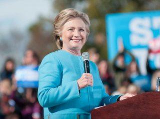 Hillary Clinton via Andrew Cline / Shutterstock.com