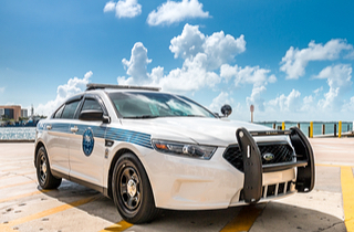 City of Miami Police Department car (Shutterstock)