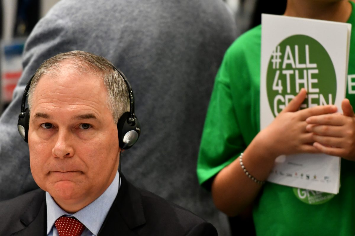 "Scott Pruitt may be lying about those ""death threats"" he's received."