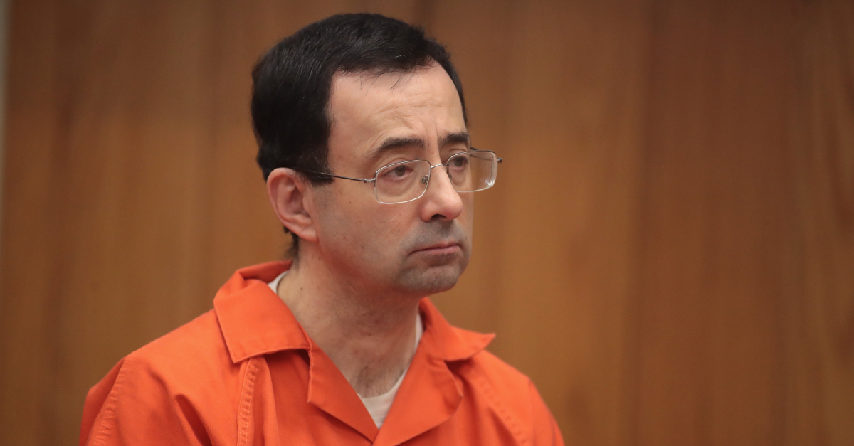 Larry Nassar appears in court