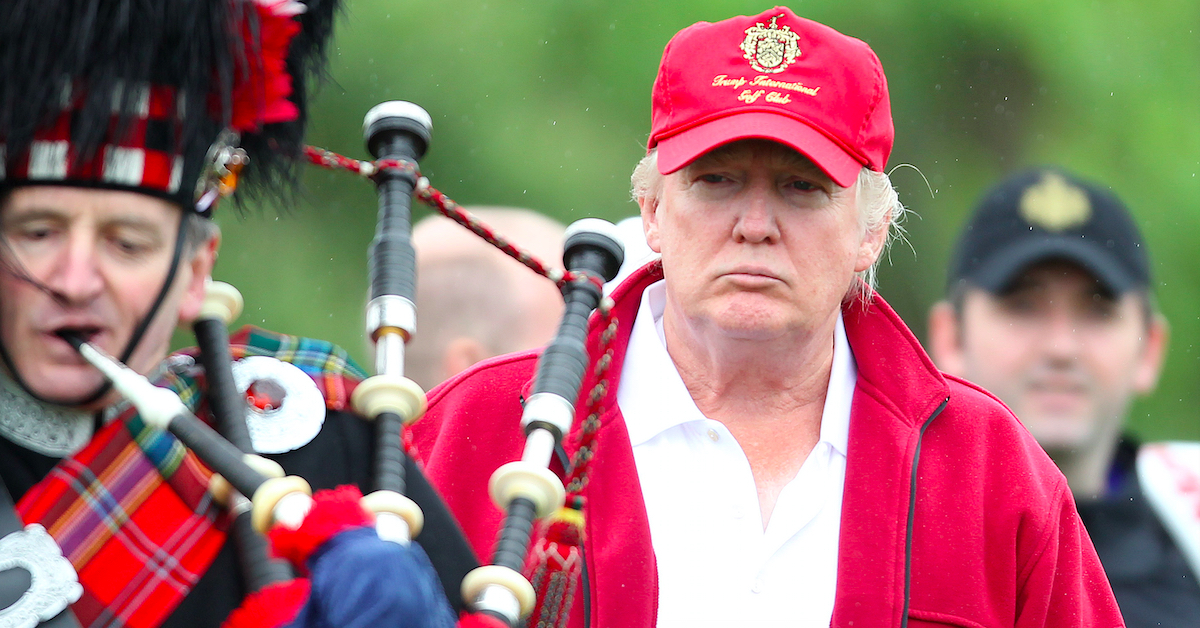 Donald Trump in Scotland