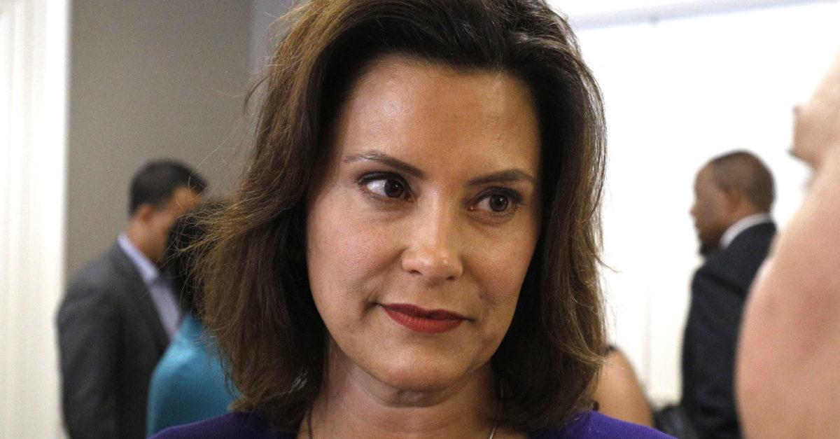 FBI Thwarts Terrorist Plot to Kidnap Michigan Governor Gretchen Whitmer