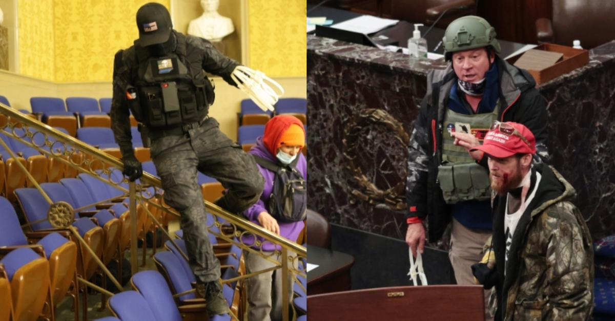 Capitol riot suspects who allegedly brought zip ties, wore tactical gear arrested
