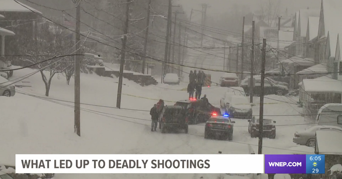 Snow Shoveling Dispute Turns Into Triple Murder Suicide
