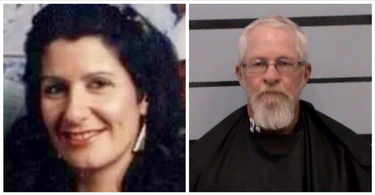 Murder victim Holly Simmons, Jimmy Wolfenbarger mugshot