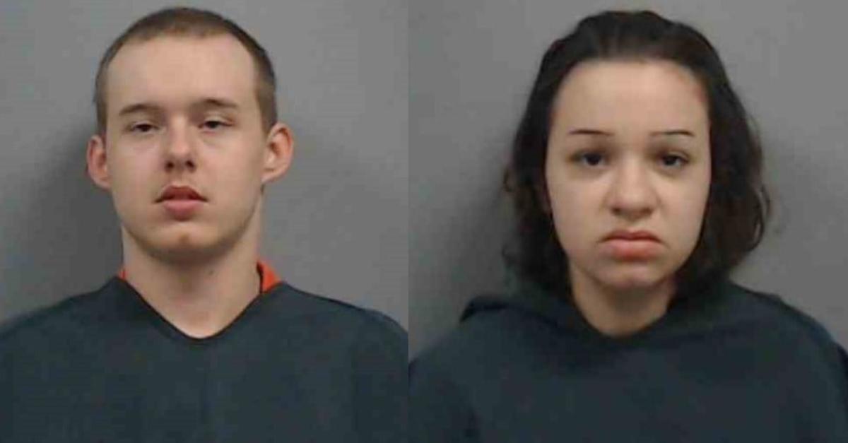 Mugshots of Brady Lynden Wearn and Mary Catherine Bedenbaugh
