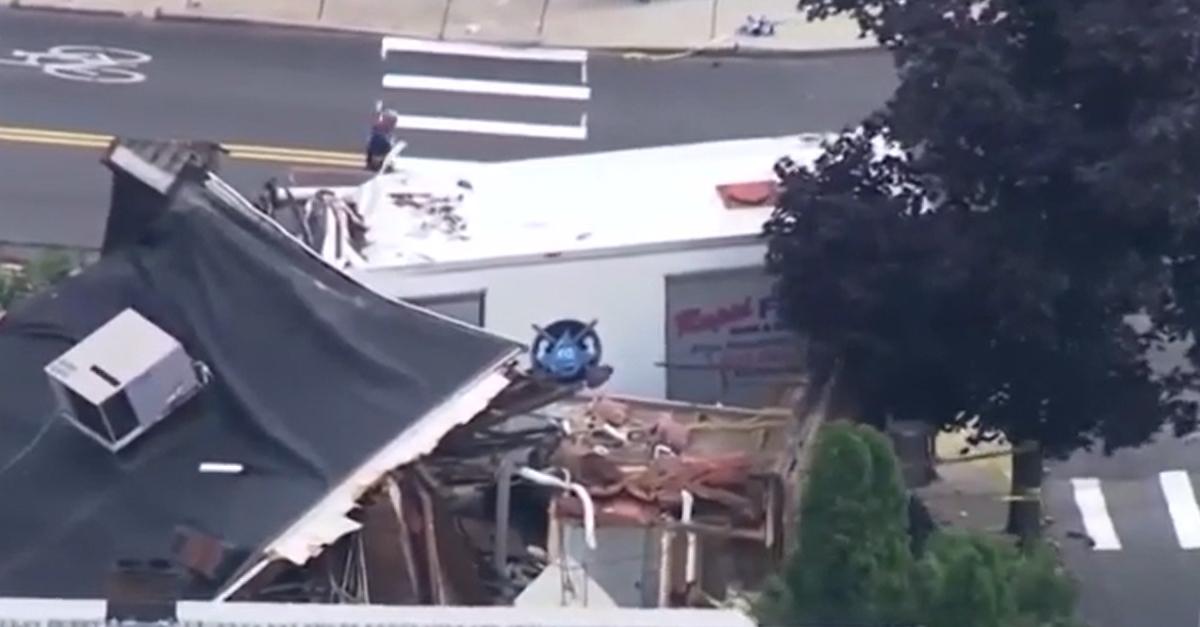 Crash in Winthrop, Massachusetts