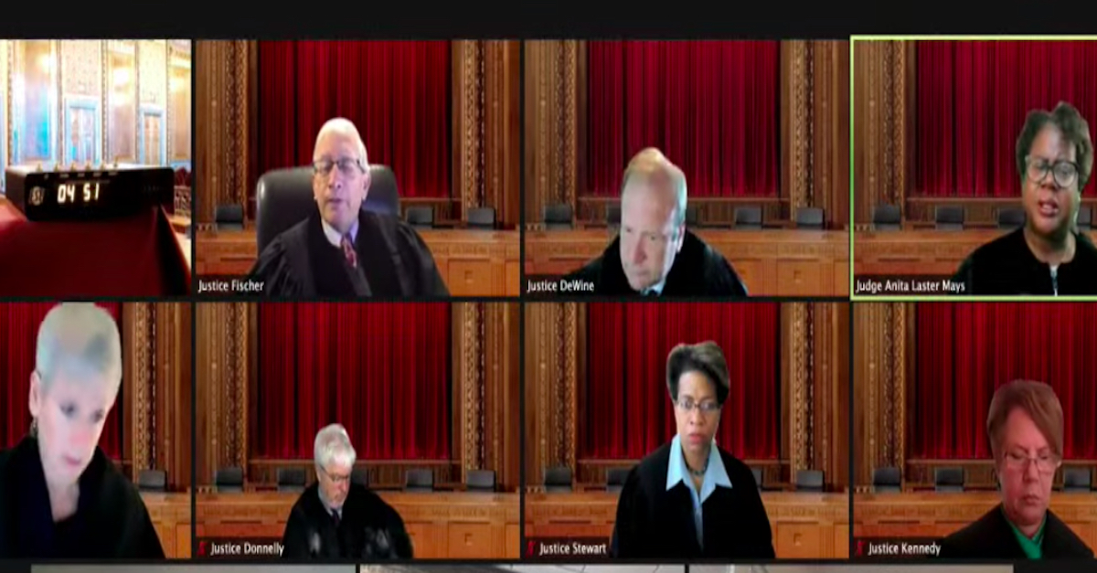 Ohio Supreme Court justices