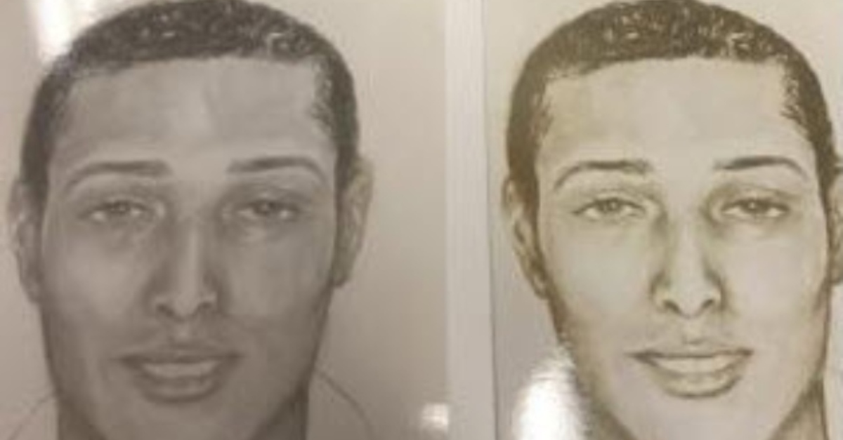 Suspect sketches of man allegedly last seen with Kathy Hicks