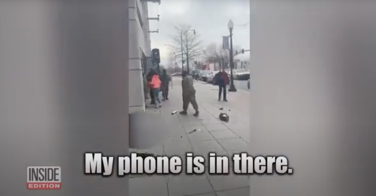 A teen girl worries about her phone as a 66-year-old man she tried to carjack lay dying on a sidewalk in D.C.