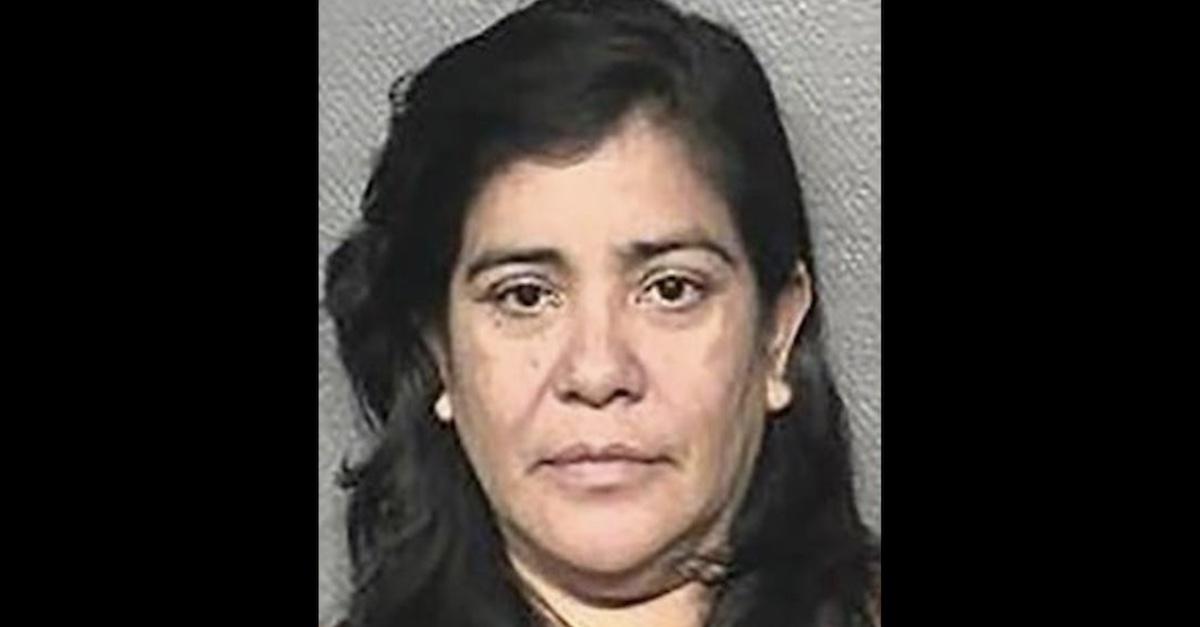 Patricia Ann Garcia mugshot via Houston PD