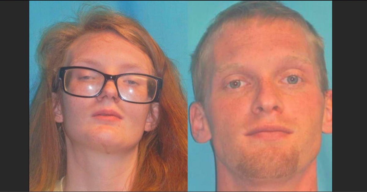Mugshots of Ashley McCamey and Brandon Marsh, courtesy of the Greenville Sheriff's Department
