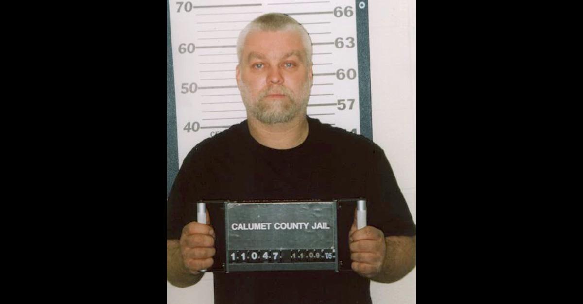 Steven Avery is seen in a 2005 mugshot taken by the Calumet County, Wisconsin jail.