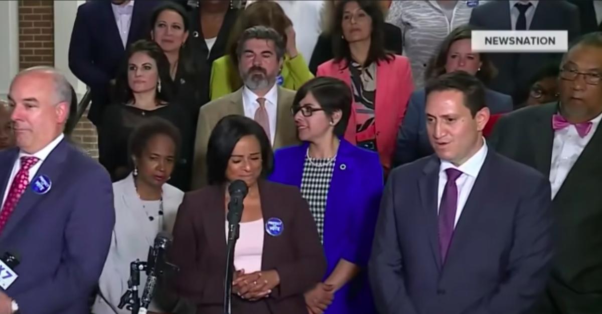 Texas Democrats hold press conference following May 2021 walk out